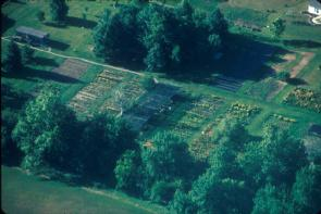 Aerial view #4 of the Gardens